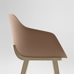 Jean Louis Iratzoki's Kuskoa Bi chair designed for Basque furniture brand Alki is the first on the market to be manufactured in bioplastic.