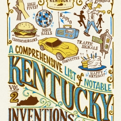 A Comprehensive List of Notable Kentucky Inventions - Volume 2 Invented and printed by Cricket Press In Lexington Kentucky.