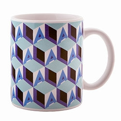 Sister's of Los Angeles' L.A. Cube Mug Set! 4 stunning colorways to brighten up your morning with some LA love...