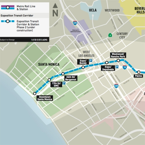 LA Metroline will finally reach Santa Monica! So for any of you Angelenos or visitors to LA... starting May 20th, you can actually get from the beach to downtown (and everything in between) more easily.