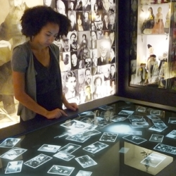 Potion was commissioned by the Los Angeles Museum of the Holocaust and worked with Variate labs to develop and design the 'Memory Pool' interactive table as the centerpiece for the museum's first gallery.