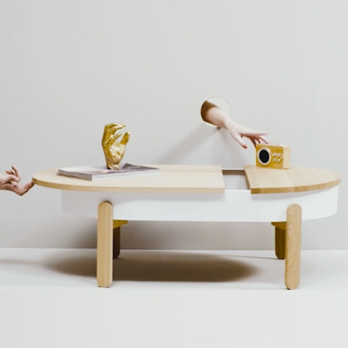 Creative video loops by carmela.work for Woodendot. Hands and holes in order to show the functionality of their furniture and accessories.