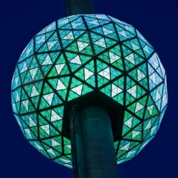 The 2012 Times Square New Year's Eve ball is set to dazzle with more than 32,000 LED lights!