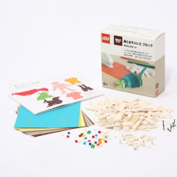 MUJI worked with LEGO on a series of sets that combines paper with blocks, through the use of a hole punch. Unique and unexpected partnership that brings LEGO to a fun new place!
