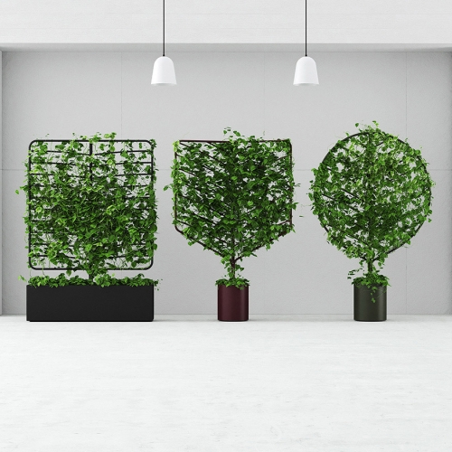 Nature and Nurture: The Botanical Planter Screen Collection by Helen Kontouris. Both beautiful and practical, these versatile moveable screens can be used to readily bring the rejuvenating benefits of nature to any urban environment, indoors or out.