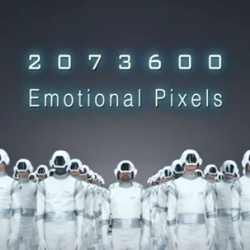 A nice viral campaign by LG. To promote their LED tv, and the depth of the image, LG capitalised on emotions and created the Pixel Soldiers, some super heroes inside your TV that can feel your emotions.