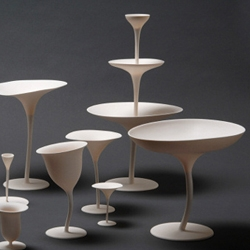 'Louis XXI' human porcelain by Andrea Branzi.