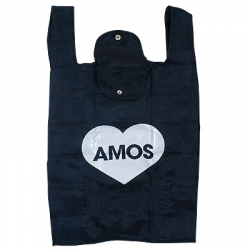 On reusable shopping bag options ~ liking the button pouch on these limited edition Amos Tote Bag NY produced to celebrate the release of VMATGSOW in Japan