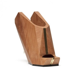 You may not be aware of it, but since prehistoric times, up to the Middle ages and today, many shoes have been made entirely out of wood. Cat Potter takes this material and models it with a three axis milling machine.