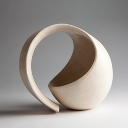 Accepting one's fate can be liberating. The problem is finding one's path while zigzagging between modern neuroses. We have discovered that observing Tina Vlassopulos' work can help. Here are her pots for 'contemplation'.