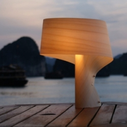 For this photo shoot - the Air MP lamp by LZF Spain went on a tour of Vietnam. Lucky lamp designed by Ray Power.