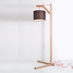 L_MP white oak floor lamp - Milan based design duo A/R Studio for CB2