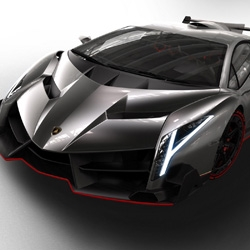 Lamborghini introduces the Veneno. The $4.6 million car with a 750 horsepower V12 will be limited to only 3 customers.