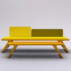 LeeLow by Petter Knudsen is a funky new interpretation on Scandinavian Design. I love the simplicity.