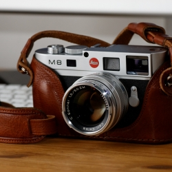 Amazing case for the Leica M8 by Luigi!