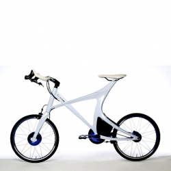 The Lexus Hybrid Bicycle, is a design concept the captures the fundamental engineering and design values of the brand.