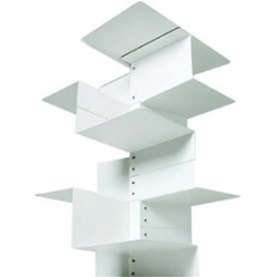 'Librespiral' shelf modules, by Gerardo Mari for Danese.