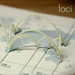 loci – 3D Printed Sculptures of Your Flights