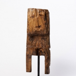 Madrid-based artist and designer Luis Bueno recently presented a collection of new wood sculptures he created.