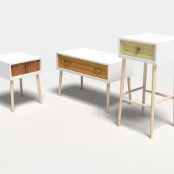 When old fashioned furnitures meet design, a work by the polish designer Lukasz Wysoczynski
