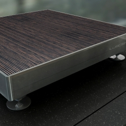 German engineering and design as its best. Luscendo -music in a new light. Audio furniture made of concrete and wood with optical fiber inside make a very special and high-end product for every audiophile.