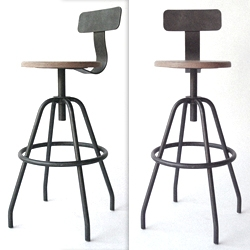 'Studio Stool' by MAKR is available for pre-order. Handmade in Charleston, South Carolina.