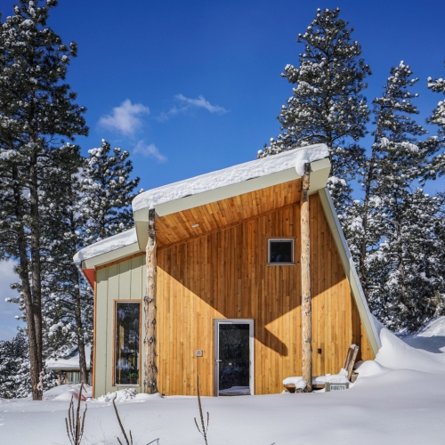 BAOSOL MARTaK REST/WORK: Colorado's first passive house. Tucked away in the foothills of the Rockies and inspired by Japanese design and the local terrain.