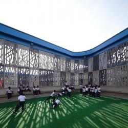 A great architecture video by Cristobal Palma: Flor del Campo school in Cartagena de Indias by Mazzanti + Mesa.