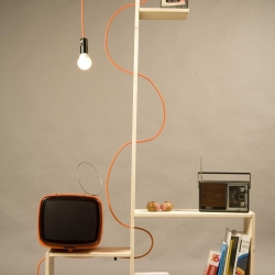 Shelflamp by William Raffreddi. 