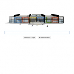 The finest tribute to Mies Van Der Rohe birth anniversary on Google.