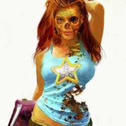 Mary Jane still looks sexy even after being dead. With Halloween just around the corner  check out what happens to all of your favorite superheroes when they become MARVEL ZOMBIES!