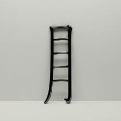 'Contemporary Chinese Collections' Exhibit by designer Mike Mak, includes the Moon Reach Ladder, for the Hong Kong School of Design's 50th Exhibition.