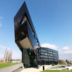 New Headquarters for Uniopt Pachleitner Group: The Black Panther.  By GSarchitects.