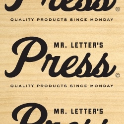 MR. LETTER'S PRESS - Quality products since Monday. High-end letterpressed stationery products. [Editor's Note: this one was a bit blatant on the selfpromo, but i was impressed with their pdf]