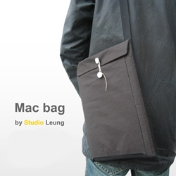 Studio Leung jumps on the manila envelope as laptop case bandwagon with their latest Mac Bag.