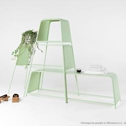 'Mademoiselles' modular system designed by noto Marco Guazzini + Tsukasa Goto for Officinanove.