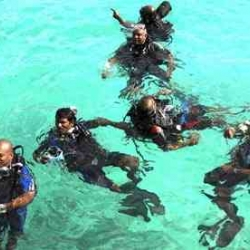 The Maldives government held an underwater cabinet meeting to draw attention to the issues surrounding global warming and potential sea level rises