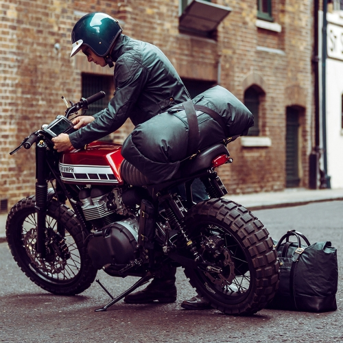 In preparation for the 'Expedition Collection' the Malle London team set out on a 10,000 mile (37 day) expedition across the North American continent with the motto 'Design, Destroy, Redesign & Deliver' - design in motion!