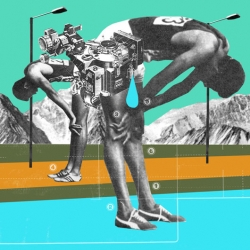 Retro Inspired collages by Mario Wagner.