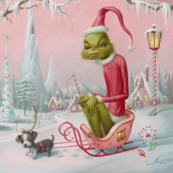 Hommage to Dr Seuss by Mark Ryden and others, at M Modern Gallery this weekend