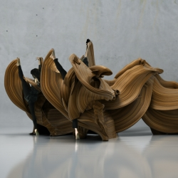 Motion sculptures for CCTV Documentary.