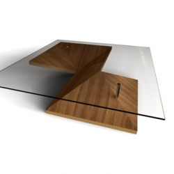 Toronto designer Martin Pinotak has created 'Origami,' a table that beautifully melds function and high design.