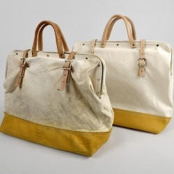 Beautiful looking canvas bag from Hickoree's Hard Goods. Great for an overnighter.