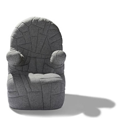 Meet Memory, a unique armchair designed by Danish designer Ole Jensen.