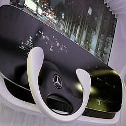 Mercedes-Benz DICE concept brings gesture controls to the cockpit.