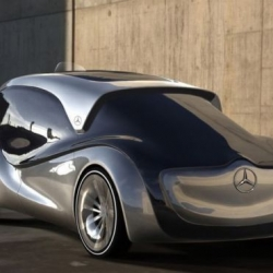 Slavche Tanevski presents Mercedes-Benz Nimbus is a sustainable Taxi for 2025.
