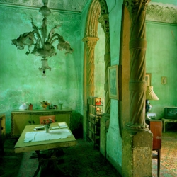 Stunning photographs by Michael Eastman of Havana facades and interiors.