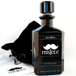 Whisky packaging designed by Emelie Halston. Mister.e is a Single Malt Scotch Whisky for the modern day gentleman.