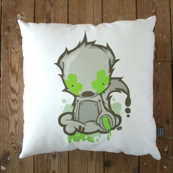 A new range of giant floor pillows and scatter cushions over at ClickforArt.com. Made from faux suede with a soft feather inner. All a range of very cool artists. Each is part of a 150 Limited Edition. Shipped Worldwide with a Certificate of Authenticity.