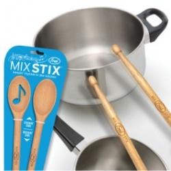 Fred's MIX STIX™ keepin' rhythm in the kitchen. Designed by Ignacio Pilotto & Jason Amendolara.